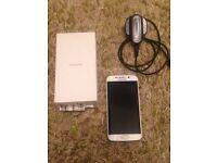 Samsung Galaxy S6 edge 32gb & charger.