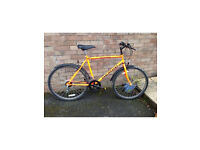 Mens mountain bike - hardly used, Ex cond