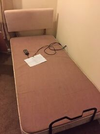 Craftmatic electric single bed