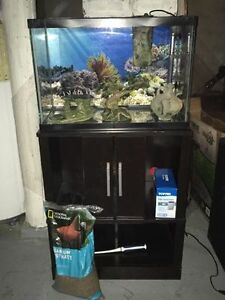Selling 20 Gallon Fish tank, Stand and Accessories