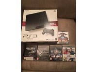 PS3 + Games 5 + controller