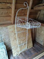 Freestanding Metal Display Unit