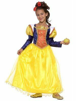 Snow White Disney Golden Dream Princess Fancy Dress Up Halloween Child Costume