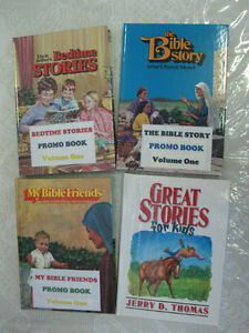 Bible Stories, My Bible Fr, Bedtime Stories & GSK - MIX (1 each)