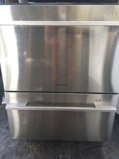 Double Dishdrawer Stainless Steel Fisher&Paykel DD60DDFX7