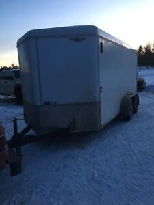 2013 h and h enclosed trailer
