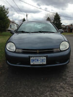 GREAT FIRST CAR! 2001 Chrysler Neon great condition $1,500 OBO W