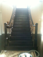 Professional Hardwood Stair Refacing and Refinishing