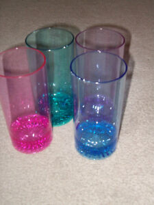 glasses outdoor or pool plastic glassware