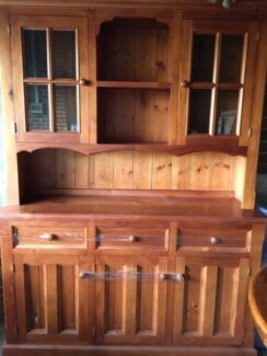 Dining solid timber buffet wall unit Baulkham Hills The Hills District Preview