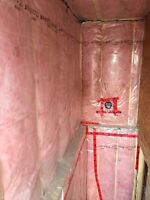 Basement framing and insulation