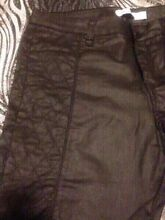 Black leather look pants - brand new black pants, leather jacket Bankstown Bankstown Area Preview