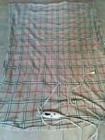 Extremely soft heated electric blanket /6 heating levels