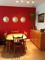 Appartement style condo rénové à ahuntsic disponible le 1 Août