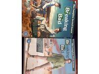 Breaking bad season 1 and 2 DVD box set
