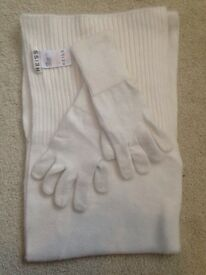 Reiss scarf and gloves
