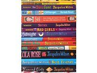 14 Jaqueline Wilson Books - hardback and paperback