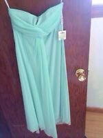 Two Mint green bridesmaid dresses 2 for 50$