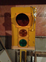 working stop light