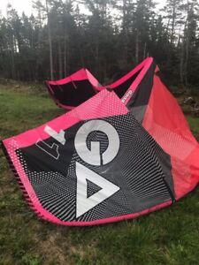Kitesurfing kiteboarding kite 2016 Gaastra Pure 11M