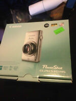 Canon PowerShot ELPH 510 HS digital camera with touch screen