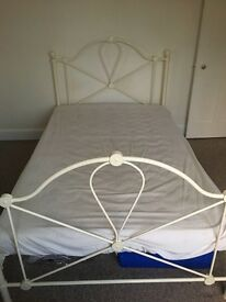White/Cream Bed