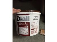 Diall floor tile adhesive and grout