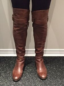 High fashion ladies leather boots - Holt Renfew