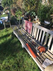 Stihl HL75 long reach hedge cutter