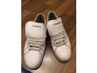 Ladies Lacoste trainers