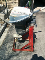 9.5 Evinrude Outboard Motor For Sale