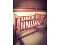 Cosatto Solid Oak Crib