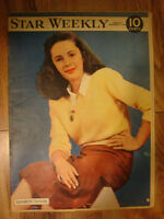 Vintage copy of The Star Weekly Magazine from Dec 6, 1947!