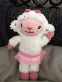 Talking Lambie from Doc Mcstuffins
