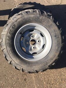 Full set of rims and tires