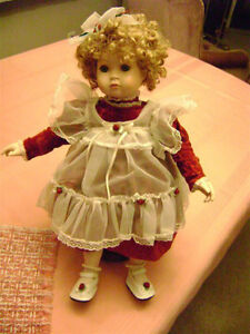 """Shirley Temple -- """"Look - a - Like"""" Doll, Numbered # 195 / 300"""