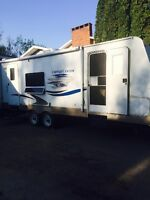 2007 Copper Canyon travel trailer