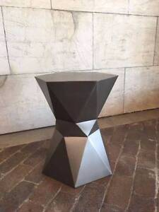 Brand new bronze designer side table/stool - stunning Darling Point Eastern Suburbs Preview