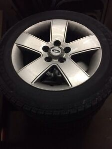 Ford rims and tires  Cornwall Ontario image 3