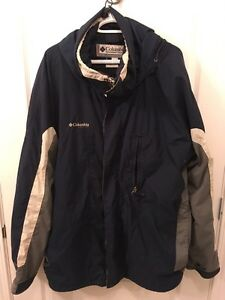 Mens Columbia winter jacket