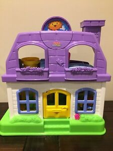 Fisher Price Little People Happy Sounds Home & Musical Car