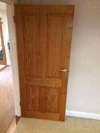 18 solid pine internal doors