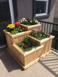 4 Stage Flower Bed