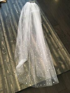 Beautiful gem covered veil