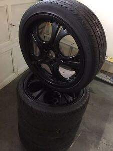 "17"" Aftermarket Wheels & low pro tires Revelstoke British Columbia image 2"