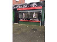 Barber Shop for Sale/ Let Old Swan
