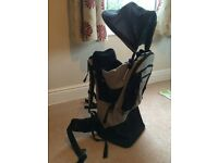 Mothercare child back carrier