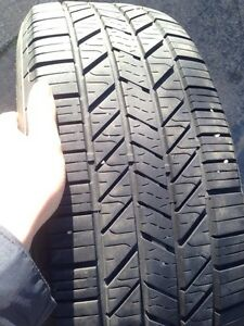4 Hankook Optimo Winter Tires - 70% Tread Left-  P215/60R16 94V Kitchener / Waterloo Kitchener Area image 5