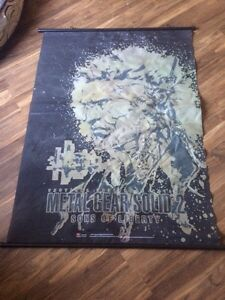 Metal gear solid 2 wall scroll