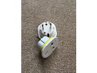 UK to Euro Adapters x2